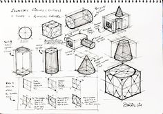 Class Graphic Design Exersize Sketching And Planning
