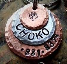 Cute dog tag