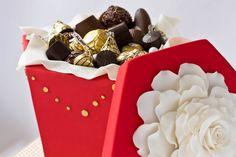 Chocolate Cake Box Tutorial :)