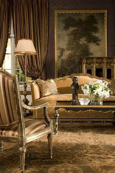 wall colors, interior, decor room, chic furniture, antique furniture, formal living rooms, background, art, live room