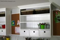 Free DIY Plans - Schoolhouse Wall Hutch