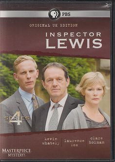 Inspector Lewis Series PBS Masterpiece Mystery