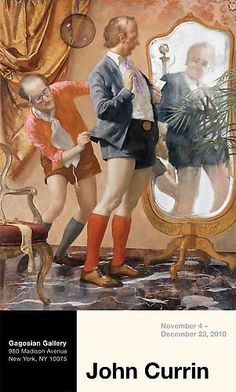 Shop - John Currin - New Paintings Poster (Hot Pants) - Gagosian Gallery