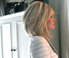 If I ever cut a bob, this is what I hope it would look like.