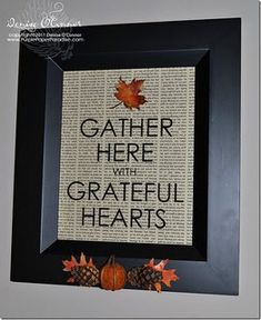 Add some festive words to your Thanksgiving decorations this year.  This autumn blessings frame, made with your handy eCraft electronic die cutting machine by Craftwell, is a beautiful way to draw attention to the sole purpose of the fall harvest. #thanksgiving