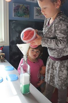 """Play at Home Mom"" a great blog with tons of fun ideas for moms to keep kids busy!"