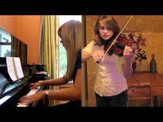 Morrowind/Skyrim Theme Piano Violin Medley with Lara the piano, theme piano, game