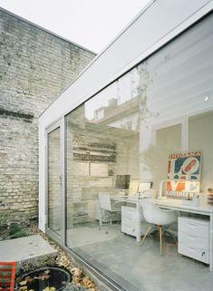 TownHouse by Elding Oscarson Design: Sweden featuring the classic Eames DAW www.nest.co.uk/... - via Trendland