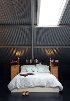 Corrugated walls? Yes please.