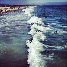 Summer Sunday, Manhattan Beach Ca.
