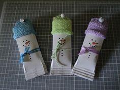 Card Corner by Candee: Snow-Bar Treats