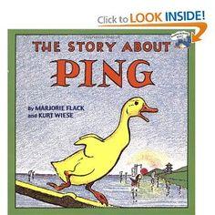 stori, childhood books, boats, ducks, read, children books, ping, bedtime, kid