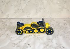 Toy Motocycle - 3D Quilling miniature (LilianaArtWork.breslo.ro)