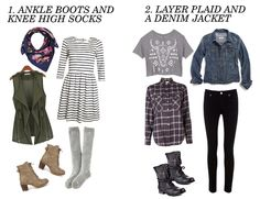 4 Fall Outfit Ideas 2013 - Joyful outfits