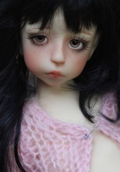 Italian doll artist Linda Macario and this is absolutely gorgeous artistry!