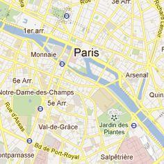My places in Paris.