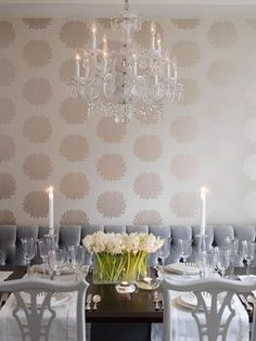 Great wallpaper for powder room