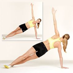 side plank, ab workout