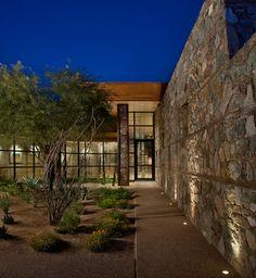 Country Club Contemporary - contemporary - Entry - Phoenix - Salcito Custom Homes