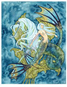 Aquamarine Mermaid by Amy Brown