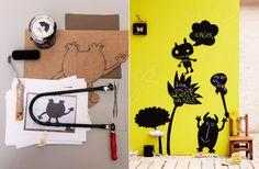 chalkboards, chalkboard diy, inspiration, chalkboard paint, diy wall