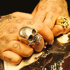 Nikki Sixx Skull Ring