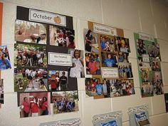 Classroom timeline- love this idea!:)