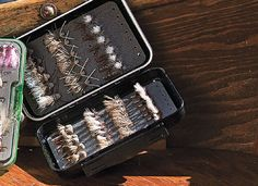 C 1600 Series Fly Box is perfect for carrying a lot of big bushy flies.  Its water-tight and floats if you drop it out of your drift boat (personal experience here).