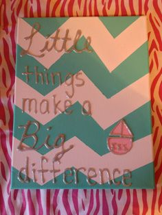 Super cute big little sorority craft! This is for Tri Sigma but could be for any chapter!!