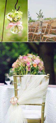 10 ideas Rustic CHIC para deslumbrar en tu boda: Decoracion de la ceremonia