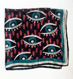 Eye Scarf - Alabama Scarf Design