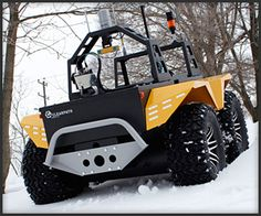 Grizzly Robot Utility Vehicle