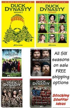 Duck Dynasty seasons