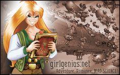 Girl Genius, by Phil & Kaja Foglio