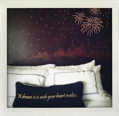 """Sweet Dreams"" photographer: Lindsey Garrett location: Disneyland Hotel"