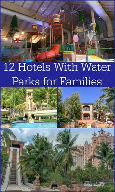12 hotels with water