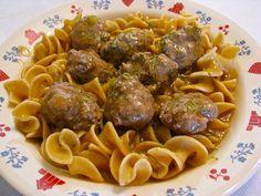 German meatballs - yummmmmm