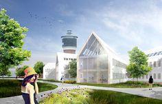 Toender City Hall Extension, Denmark by HAO & Sebastian Misiurek