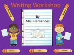 First unit of writing workshop. Everything you need to start your writing workshop ( kinder, first and second grade). Have fun with launching your writing workshop!!