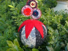 Pincushion Toppers