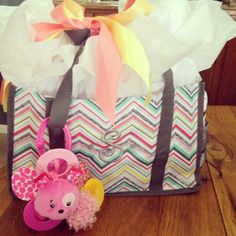 Thirty one keep it caddy baby shower gift idea.