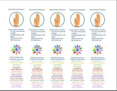 Girl scout Daisy Bookmark - help the girls learn the GS law and promise