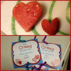 Tired of all the candy kid's get at classroom Valentine's Day parties? This mom has some great alternatives!