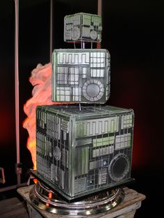 Star Trek Borg Cube Wedding Cake