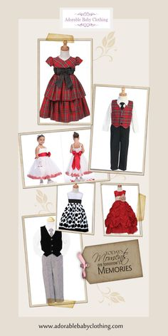 www.adorablebabyclothing.com - Dress them picture perfect! FREE Shipping too!