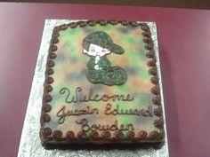 CAMO BABY SHOWER ..... Need this for a girl in PINK, PURPLE, and BLUE CAMO!!!