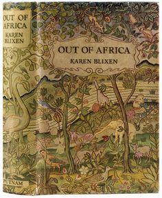 Out of Africa by Karen Blixen. Original Edition
