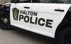 Halton officer jumps