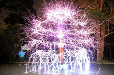 Tesla coil tree