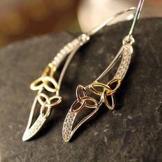 Double Trinity Earrings